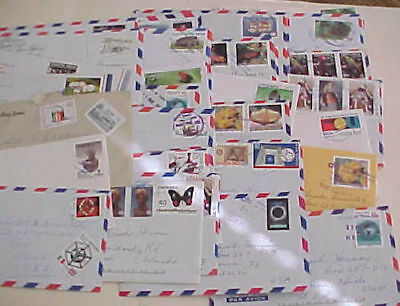Costa Rica  39 Small Covers After 1989 Mostly To Usa Includes Registered