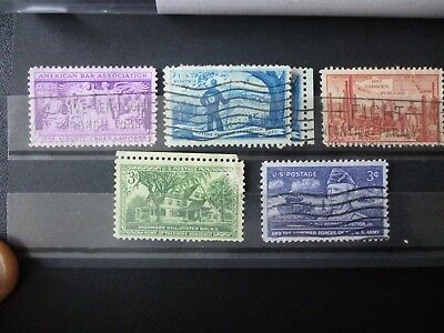 Stamps: United States 1953 Commemoratives Used