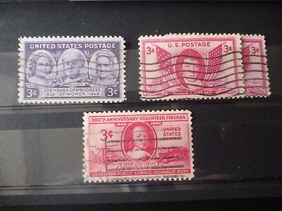 Stamps: United States 1948 Commemoratives Used