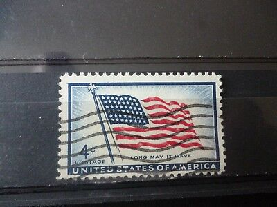 Stamps: United States 1957 'National Flag' Used