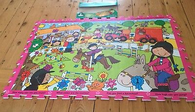 ELC Riding School Foam Floor Jigsaw Puzzle Ages 3 Years Plus