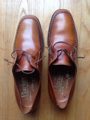 All Leather mens  Hand Lasted Barker  shoes size 8.5 colour Brown