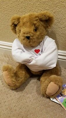 Crazy for You Vermont Teddy Bear, extremelly rare, immaculate condition!