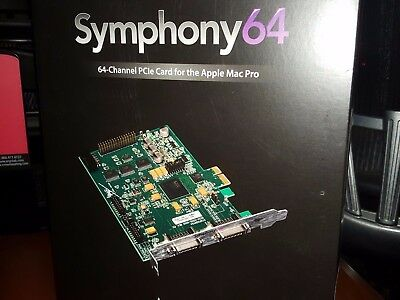 Apogee Symphony 64 PCIe Card / PCI Express Card Audio Interface For Mac Pro