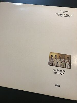 """Frankie Goes To Hollywood 12"""" Original Vinyl. The power of love"""