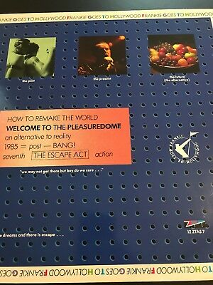 """Frankie Goes To Hollywood 12"""" Original Vinyl.  Welcome to the pleasure dome"""