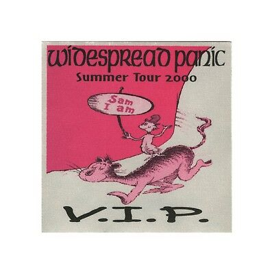 Widespread Panic authentic 2000 Summer tour satin Backstage Pass VIP pink