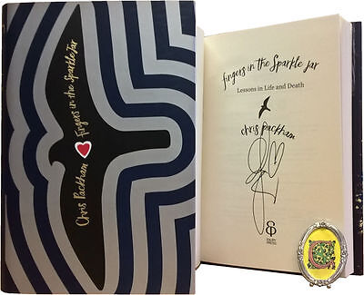 Signed Book - Fingers in the Sparkle Jar: A Memoir by Chris Packham