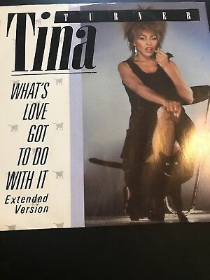 """Tina Turner 12"""" Original Vinyl. What's Love Got To Do With It"""