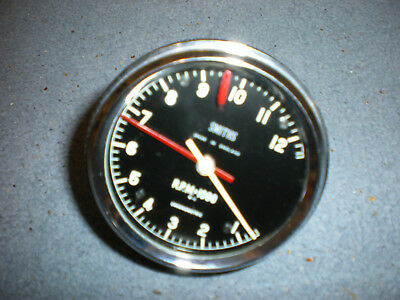 Smiths chronometric rev counter with Ford front cover and cable