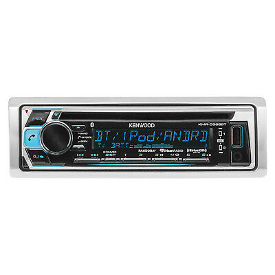 Kenwood KMR-D368BT Marine Yacht CD MP3 Bluetooth Stereo iPod iPhone Player