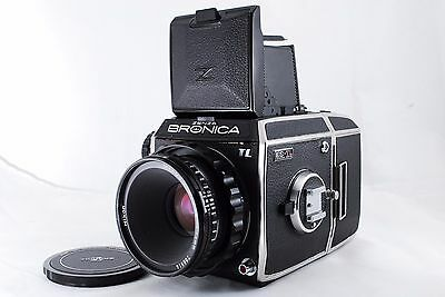 【EXC++】Bronica EC-TL Camera with Nikkor P.C 75mm f/2.8 Lens from Japan