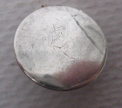 Antique George III Solid Silver Tunic Button Maker TW c1760-80