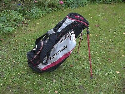 A Taylormade Burner Stand Bag In Good Condition