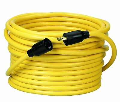 Southwire Coleman Cable 092088802 12 Gauge Outdoor Extension Cord, Yellow (50')
