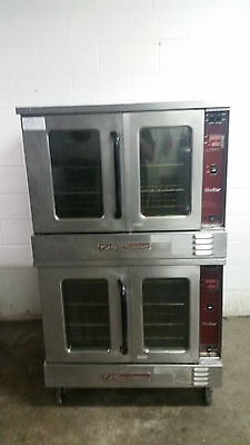 Southbend Silver Star SLGS/22CCH Double Stack Convection Oven Nat Gas Tested