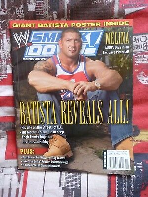 WWE Smackdown Magazine Batista – November 2005