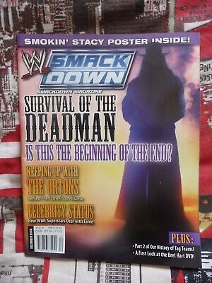 WWE Smackdown Magazine The Undertaker – December 2005