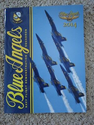 Official 2014 Blue Angels Yearbook