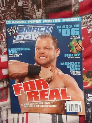 WWE Smackdown Magazine Chris Benoit – May 2006