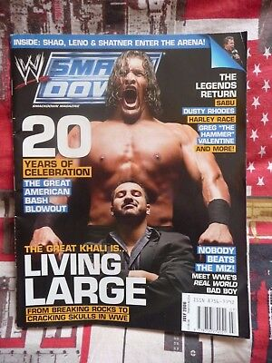 WWE Smackdown Magazine The Great Khali - July 2006