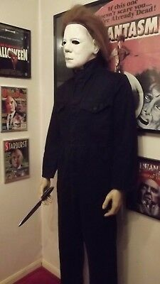 LIFE SIZE Michael Myers Halloween Movie Prop Horror Figure Statue