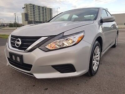 2017 Nissan Altima S 2017 NISSAN ALTIMA GAS SAVER LOADED! NO RESERVE AUCTION NO DAMAGE LIKE NEW LOOK!