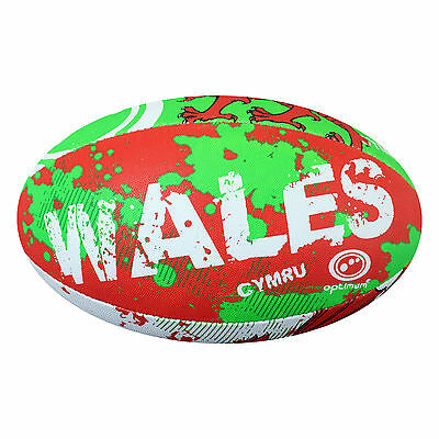Optimum WALES RUGBY BALL size 4 training