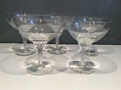 Champagne Saucers set of 5