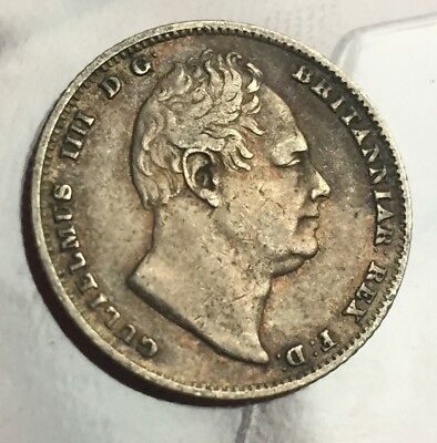 William 6 Pence 1834