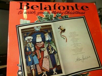 Belafonte -To Wish You A Merry Christmas -Rca   Rd-27092 Fidelity Lp