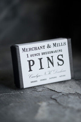 Merchant & Mills Pins - 1oz of Dressmaking Pins