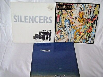 The Silencers-3 Classic Vinyl Albums BARGAIN