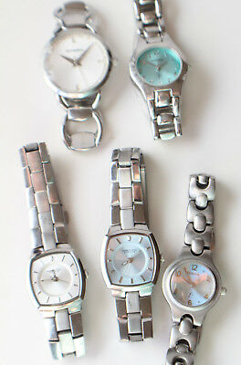 Women's Watch Lot of Five (5) Fossil and Kenneth Cole Watches