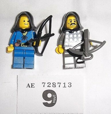 **lego Castle Knights Minifig Archers **#9