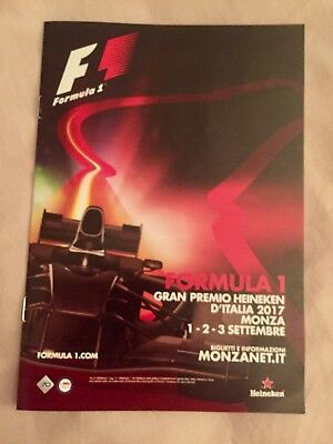 Formula 1 Italian Grand Prix 2017 Official Guide - Monza - 1/2/3 September 2017