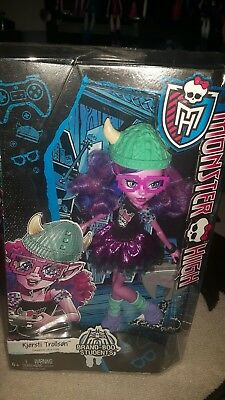 Monster High Kjersti Trollson Doll New