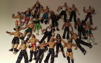 WWE WWF wrestling figures bundle
