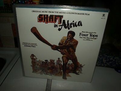 SHAFT IN AFRICA - JOHNNY PATE vinyl film soundtrack album
