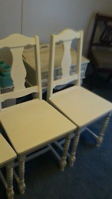 Vintage Set of 3 Wooden chairs