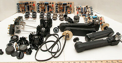 Box Lot Of 55 Bell & Howell 2580 16mm Sound Movie Projector Parts