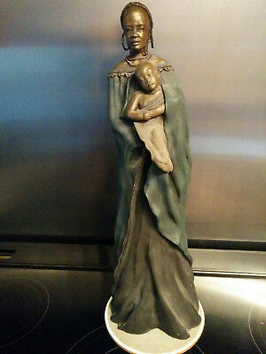 "Soul Journeys Maasai ""ETANA""  Gentle Spirit by Stacy Bayne - 18 inches tall"