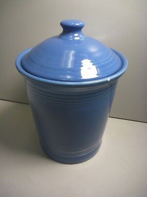 Fiesta 1 QT Blue Jar With Lid