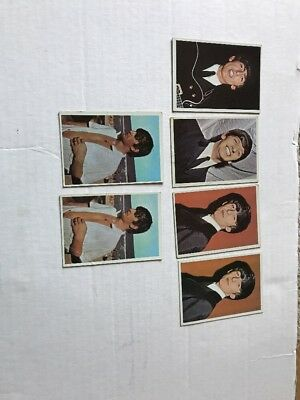Lot Of 6 Assorted Beatles Color Gum Cards