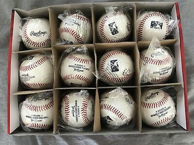 BRAND NEW OFFICIAL MINOR LEAGUE GAME BALLS 1DZ New In Wrapper