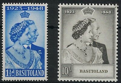 Basutoland, 1948 Royal Silver Wedding Set, U/m.