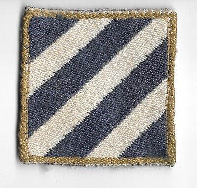 WW2 3rd Division PATCH -ITALIAN MADE- US Army