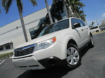 2010 Subaru Forester X AWD ONE OWNER FLORIDA VEHICLE  2010 FORESTER X AWD