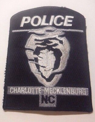 Old Charlotte Mecklenburg North Carolina Police Patch