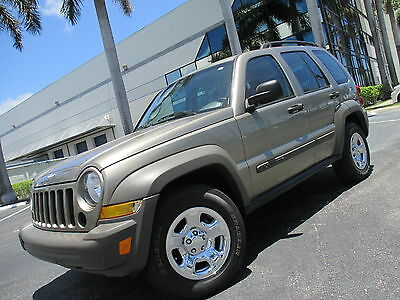 2006 Jeep Liberty SPORT UPER CLEAN LIBERTY FLORIDA TITLE ONLY 56K MILES MUST SEE